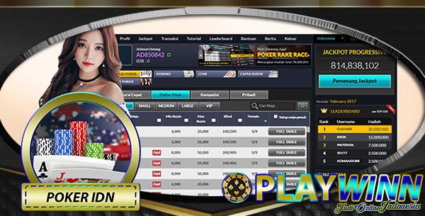 Agen Poker Online Indonesia resmi 2018