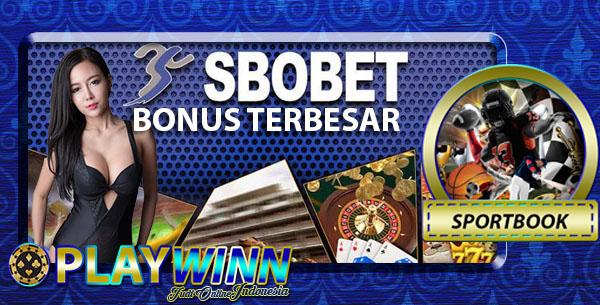 Agen Sbobet Online Bonus Terbesar